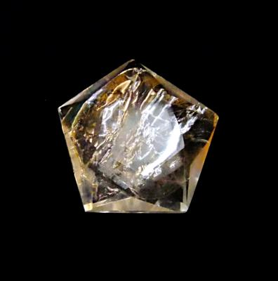 QUARTZ 'STAR OF DAVID'.   SP12682POL