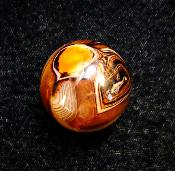 BANDED AGATE SPHERE.   SP12820POL