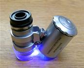 POCKET SIZE MICROSCOPE / MAGNIFIER. SPR7403