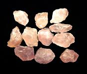 ROSE QUARTZ GEMMY CRYSTAL CHIPS.   SPR11125