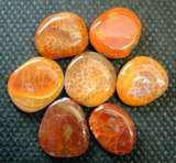 AGATE POLISHED PEBBLES & PALMSTONES
