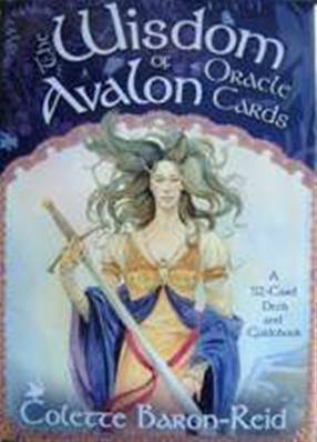 THE WISDOM OF AVALON, ORACLE CARDS. SP1965BKH
