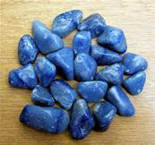 BLUE QUARTZ POLISHED TUMBLE STONES. SPR8040POL