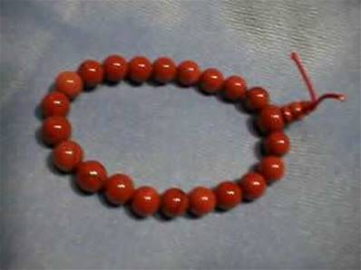 RED JASPER POWER BEADS. 280