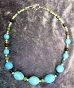 "18"" BEAD NECKLACE. SP3266"