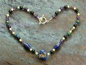 "18"" BEAD NECKLACE. SP4560"