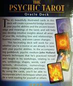 THE PSYCHIC TAROT ORACLE DECK. SPR3386