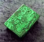 TRINKET/ JEWELLERY BOX IN MALACHITE. SP8350POL