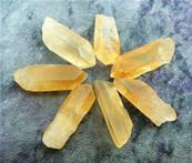 TANGERINE QUARTZ POINTS. SPR6531