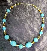 "18"" BEAD NECKLACE. SP3267"
