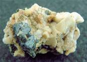 AEGIRINE WITH ZIRCON & FELDSPAR CRYSTAL SPECIMEN. SP3373