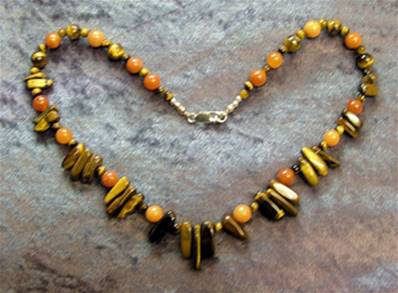 "18"" BEAD NECKLACE. SP4557"