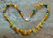 "18"" BEAD NECKLACE. SP4558"