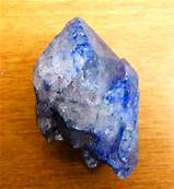 BLUE CRACKLE QUARTZ CLUSTER SPECIMEN. SP8665