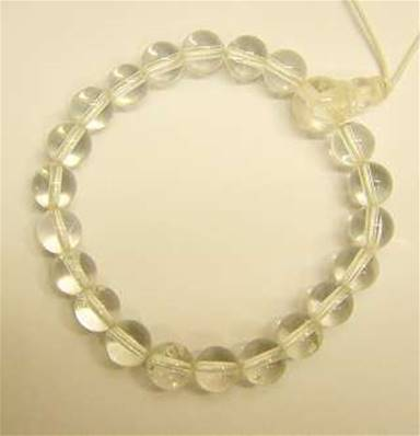 QUARTZ POWER BEAD BRACELET. 268
