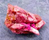 RED CRACKLE QUARTZ CLUSTER SPECIMEN. SP8660
