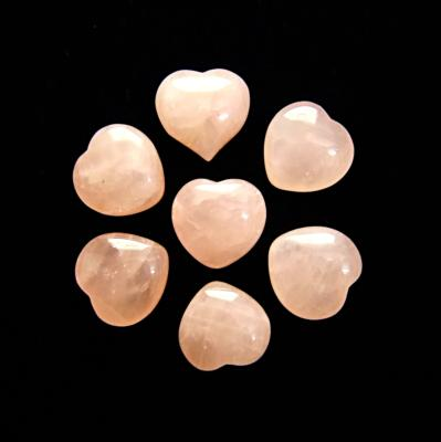 GEMMY ROSE QUARTZ MINI HEARTS.   SPR12006POL