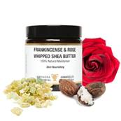 FRANKINCENSE & ROSE WHIPPED SHEA BUTTER. SPR2876
