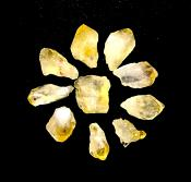 CITRINE MINI TIPS (10 PACK).   SPR12665