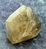 SMOKEY QUARTZ WITH GOLDEN RUTILE POLISHED 'FREE FORM' CRYSTAL. SP5235POL