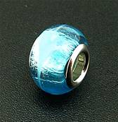 CHARM BEAD WITH SILVER PLATED LINING. 68200137