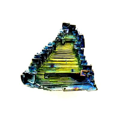 BISMUTH CRYSTAL SPECIMEN (LABORATORY GROWN).   SP12110
