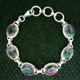 GEMSTONE BRACELETS WITH SILVER SETTING