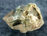 EPIDOTE IN QUARTZ SPECIMENS