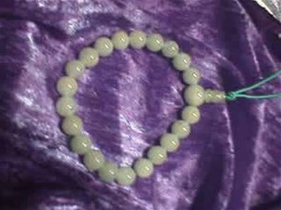 GREEN AVENTURINE POWER BEADS. 271