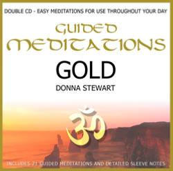 GUIDED MEDITATIONS GOLD CD BY DONNA STEWART.   PMCD0077