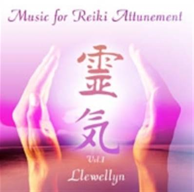 MUSIC FOR REIKI ATTUNEMENT VOL 1. BY LLEWELLYN. PMCD0088