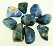 SODALITE POLISHED TUMBLE STONES.   POL100