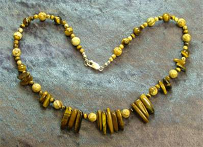 "18"" BEAD NECKLACE. SP4552"