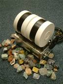 BEACH 3Lb STONE POLISHER /ROCK TUMBLER KIT WITH 1Kg ROUGH MIXED ROCK. 3lbkit2