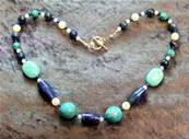 "16"" BEAD NECKLACE. SP4565"