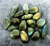 LABRADORITE POLISHED PEBBLES (LARGE). SPR5825POL