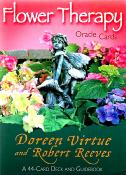 FLOWER THERAPY ORACLE CARDS. SPR7170