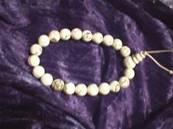 WHITE HOWLITE POWER BEADS. 267