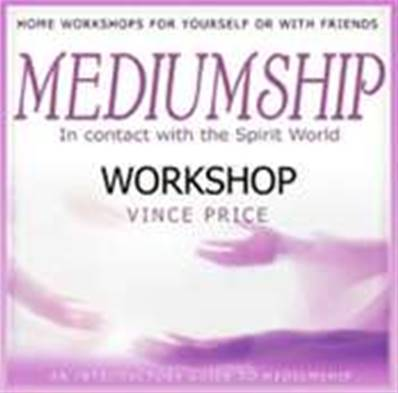 MEDIUMSHIP WORKSHOP CD. BY VINCE PRICE. PMCD0043