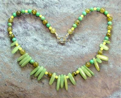 "18"" BEAD NECKLACE. SP4555"