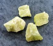 BRAZILIANITE ROUGH CRYSTAL SPECIMENS (SMALL SIZE). SPR5027
