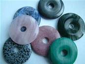 LARGE GEMSTONE DONUTS 10 PACK. 42MM DIA. DO42MIX