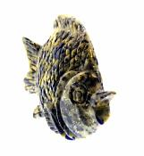 FISH CARVING IN SODALITE.   SP9988POL