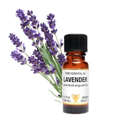 PURE ESSENTIAL OIL - LAVENDER. lavandula angustifolia. 10ml. 1/3 fl oz us. 40g. SPR1083
