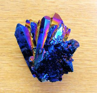 AURA QUARTZ POINT & CLUSTER SPECIMENS